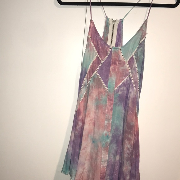 LF Dresses & Skirts - LF cotton candy tie dye dress